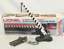 Lionel 6-2152 Automatic Crossing Gate O Gauge