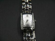 Baume et Mercier Ladies Watch Stainless Steel with Diamonds - Quartz - NEW