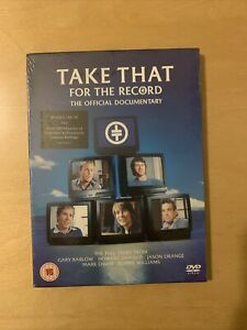 Take That For the Record DVD 2006 Sealed NEW