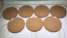 Texas-Ware Melmac Melamine Tableware Brown Salad Dessert Plate #G-4 Lot Of 7