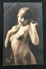 postcard Nude Naakt Woman Naked young girl Erotic Leo 89