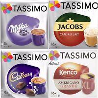Tassimo Cadbury Milka Jacobs Cafe Au Lait Kenco Americano Grande XL 48 ☕ 4 Packs