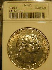 1900 $1 Lafayette Silver Commemorative AU 58 - ANACS