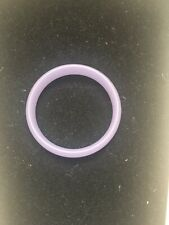 Chinese Gift Purple Vintage Burma Jade Bangle bracelet 3""