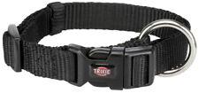 Collare cani TRIXIE Premium Nero Taglia L-xl 40-65 cm in Nylon Cod. 20171