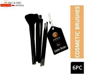 6PC Enrico Shonalli Assorted Cosmetic Brushes Make up Foundation