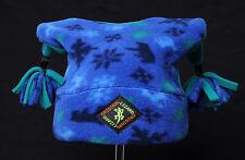 Pom-Pom Designer Fleece Ski and Outdoor Hat by Original Lizard Child Size