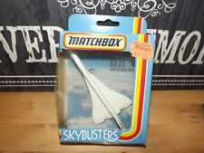 MATCHBOX - SKYBUSTERS SB-23 supersonic airliner MINT in Box 1981 version