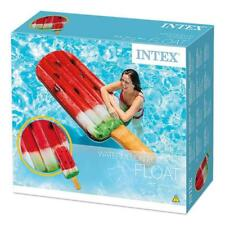"INTEX WATERMELON POPSICLE FLOAT 75"" GIANT FLOAT POOL LOUNGER LILO"