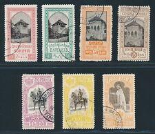 Romania 1906, MI. 197-207 canceled, very fine, MI. 130,-€