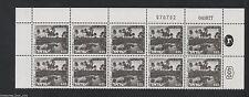 ISRAEL Landscape 469A PLAIN  ZEBULUN  0.65  Plate Block Stamp 04.08.77 / 070792