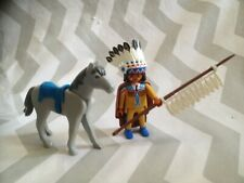 Playmobil spares Indian and horse figure ( will combine postage if possible)