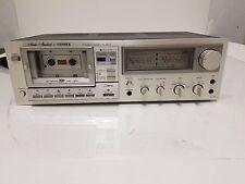 Vintage Fisher DD 300 Studio Standard Single Stereo Cassette Deck  (For Repair)