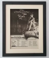 TOYAH*Changeling Tour*1982*ORIGINAL*POSTER*AD*FRAMED*FAST WORLD SHIP