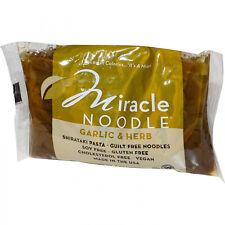 Miracle Noodle, Garlic And Herb, Shirataki Pasta, 7 Oz (198 G)