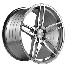 "20"" VERTINI RF1.6 FORGED SILVER CONCAVE WHEELS RIMS FITS LEXUS GSF"