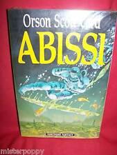 ORSON SCOTT CARD Abissi 1993 Sonzogno Prima Edizione