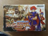 Fire Emblem Fuuin no Tsurugi Game Boy Advance Nintendo GBA Japan Import Game F/S