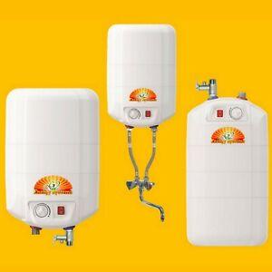 5 10 15 L Liter Warmwasserspeicher Boiler Übertisch / Untertisch / Mischbatterie