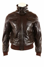 Men's Bomber, Harrington Zip Leather Hip Length Coats & Jackets