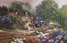 Doug Laird -  Rose House Lane - Limited Edition Print