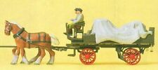 H0 Preiser 30446 Lieferwagen mit Plane FERTIGMODELL OVP