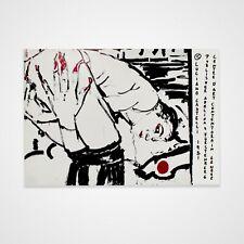 Vintage Original 1980s Luciano Castelli Junge Wilde Swiss Art Exhibition Poster