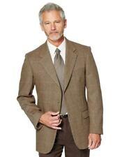 Cappotti e giacche da uomo blazer marrone in lana