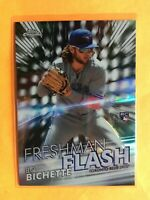 2020 Topps Chrome Bo Bichette RC Rookie Freshman Flash #FF-1 Insert Blue Jays 1