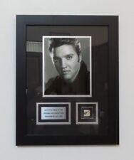 "Awesome ELVIS PRESLEY Framed Piece of the Original Hollywood Sign - 14"" x 18"""