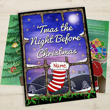 Personalised Twas The Night Before Christmas Book – Hardback Gift Idea