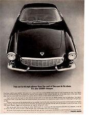 1965 VOLVO 1800S  ~  NICE ORIGINAL PRINT AD