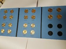 1 Each Circulated Vol 1 Folder. 20 Coins, 2007-2011 Presidential $1 Gold Dollars