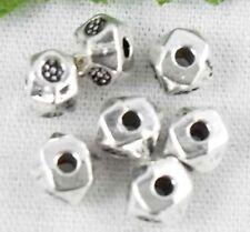 Wholesale 170/369Pcs Tibetan Silver  Spacer Beads 4mm(Lead-free)