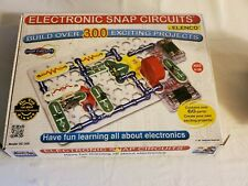 Electronic Snap Circuits STEM Over 300 Projects SC-300 Elenco 100% COMPLETE