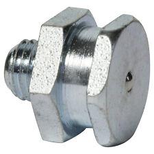 M6 x 1,0 [100 pezzi] DIN 3404 t1b piatto lubrificazione capezzoli ACCIAIO ZINCATO