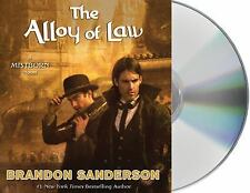 Mistborn: The Alloy of Law 4 by Brandon Sanderson (2016, CD, Unabridged) - NEW!