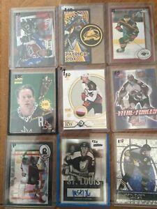 NHL Auto Game UsedJersey Rookie Numbered Inserts Card Lot Gretzky Roy Jagr Sakic