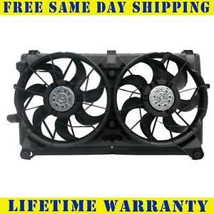 Radiator And Condenser Fan For GMC Sierra 2500 HD Chevrolet GM3115211