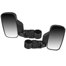 Black Side View Mirror Set 09-2019 Honda Big Red 700 Pioneer 500 1000 Wide View