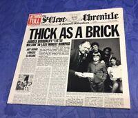 JETHRO TULL (VINYL LP) THICK AS A BRICK [CHRYSALIS GERMAN 80S REISSUE **KULT] EX