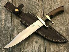 "ASH DH150 CUSTOM HANDMADE HUNTING BOWIE KNIFE 440C STEEL 13"""