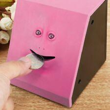 Funny Facebank Sensor Face Bank Saving Eating Money Coin Box Bank For Kids Gifts