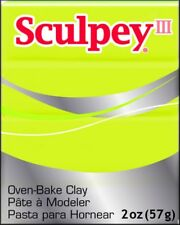 Sculpey III Polymer Clay 60ml-acid Yellow. Delivery