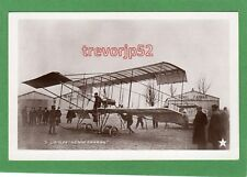 More details for henry farman aviateur aviator biplane aviation rp pc unused  etoile ref h295