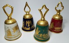 Pickard Bell - Lot of 4 - Perfect Condition - Porcelain China Bells