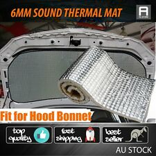 100cm X 100cm Sound Heat Proof Foil Foam Materials Car Truck HOOD Bonnet Mat 6mm