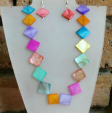Mother of Pearl Costume Necklaces & Pendants