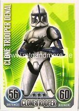 Star Wars Force Attax  Clone Trooper Denal #034