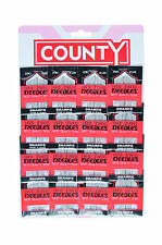 County assorted sewing needles - 1 card - 16 x 20 on a card